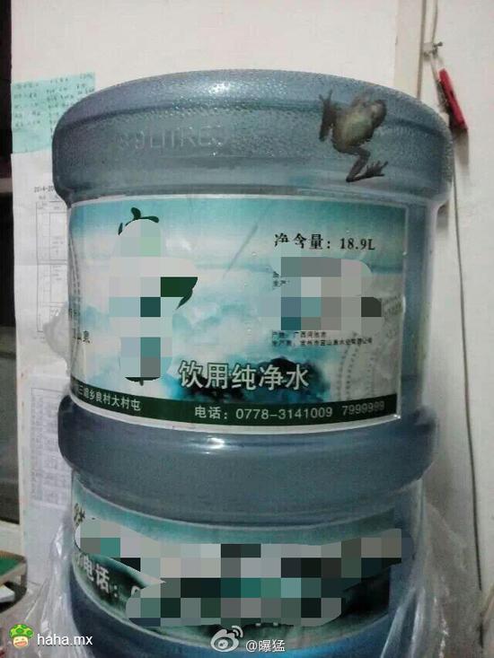 大概学校里卖的桶装水真的是泉水吧…